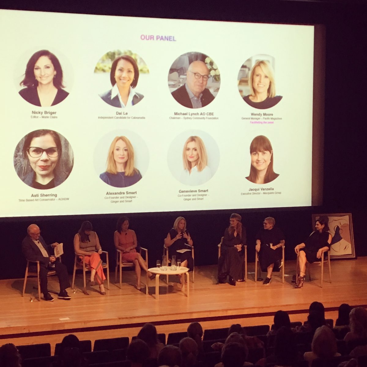 Sydney Women's Fund, Art Gallery NSW, AGNSW Fearless, Nicky Briger, Pacific Magazines, Michael Lynch, Macquarie Group