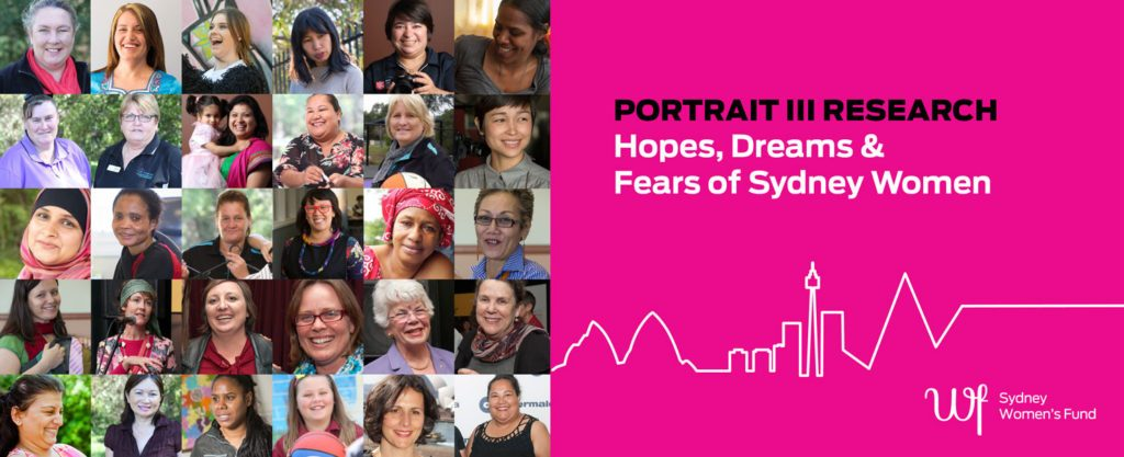 Portrait Research, Sydney Women's Fund, Jane Jose