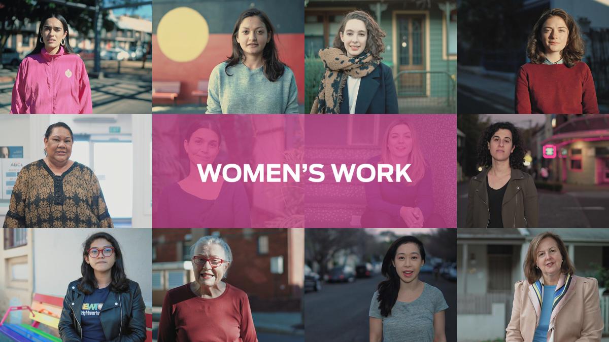 Sydney Community foundation, Sydney Women's Fund, Newtown, women's work