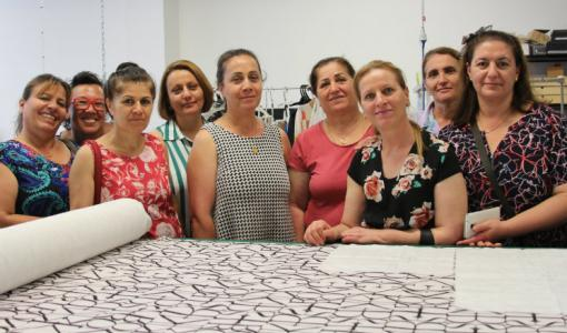 'Strong & Kind' Job Readiness sewing collaboration