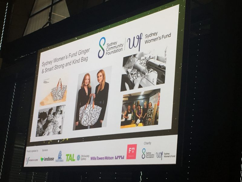 Women in Super, Anna Meares, Jane Jose, Sydney Community Foundation, Be Kind Sydney, Sydney Women's Fund