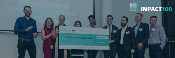 Impact100 Sydney $100,000 Grant