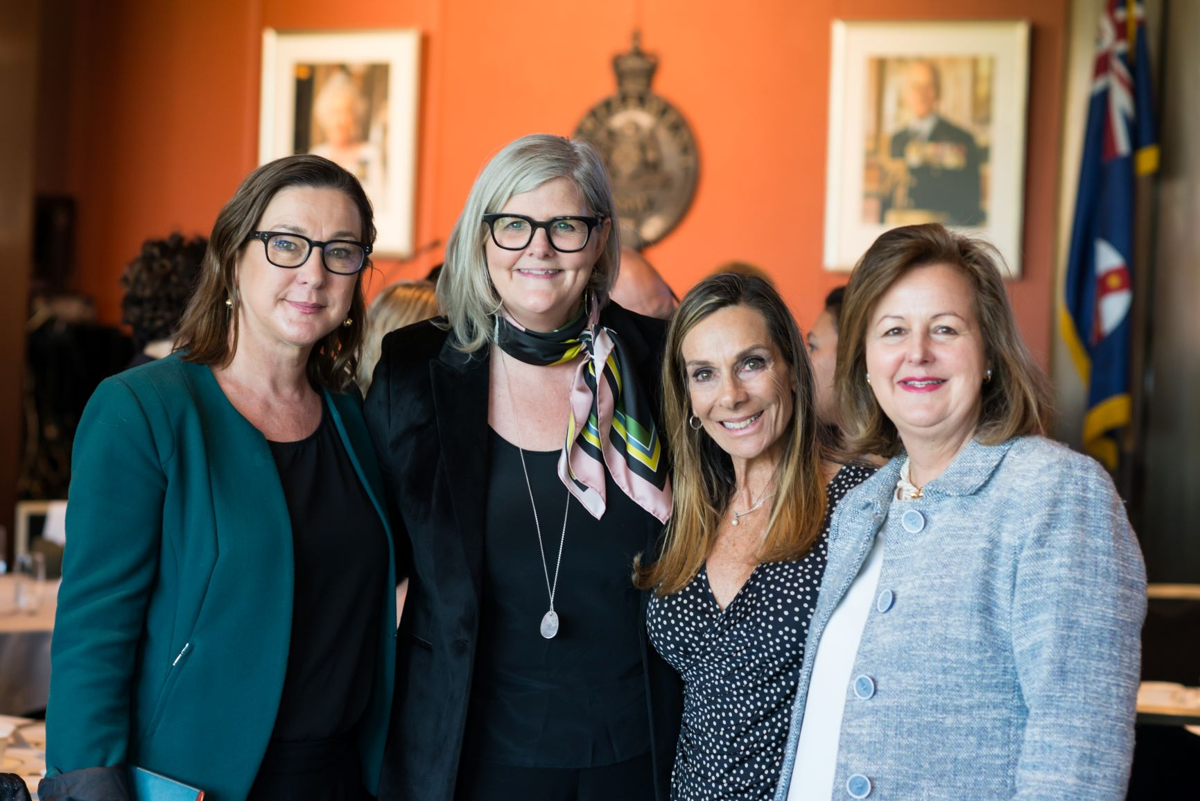 Sam Mostyn, ANROWS, Lenore Taylor, Guardian Australia, Jane Jose, Dress for Success, Keeping Women Out of Prison, Sydney Women's Fund, Sydney Women's Charity