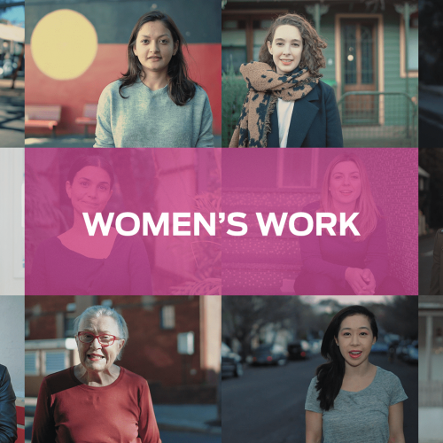 Women's Work Campaign Shortlisted
